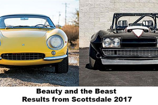 Auction results and thoughts relating to Scottsdale Arizona 2017