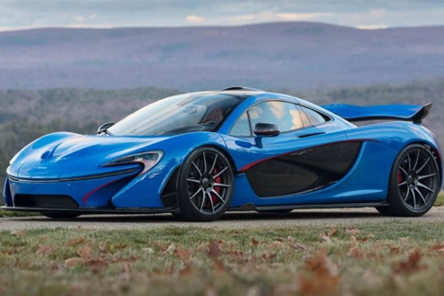 2015 McLaren P1 Offered Without Reserve at Amelia Island Auction