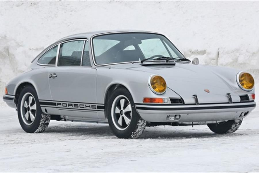 Outstanding 1970 Porsche 911 2.2 ST at Amelia Island