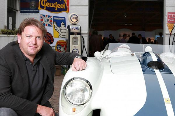 TV chef James Martin cooks up a classic menu for petrolheads