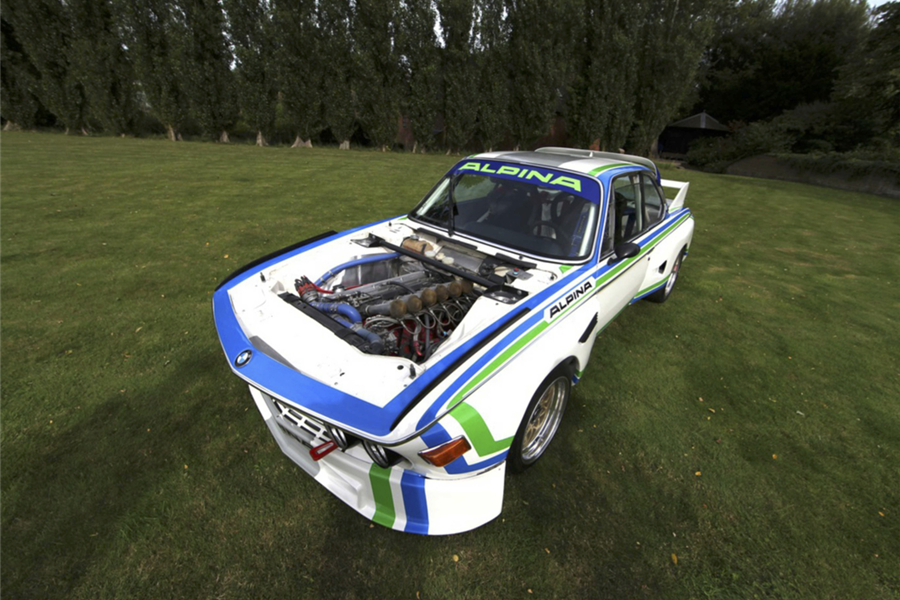 Race Retro Competition Car Sale includes 1972 BMW 3.0CSL Batmobile