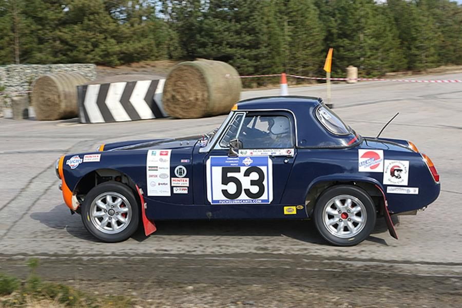 Bovington start for Fuchs R.A.C. Historic Asphalt Championship