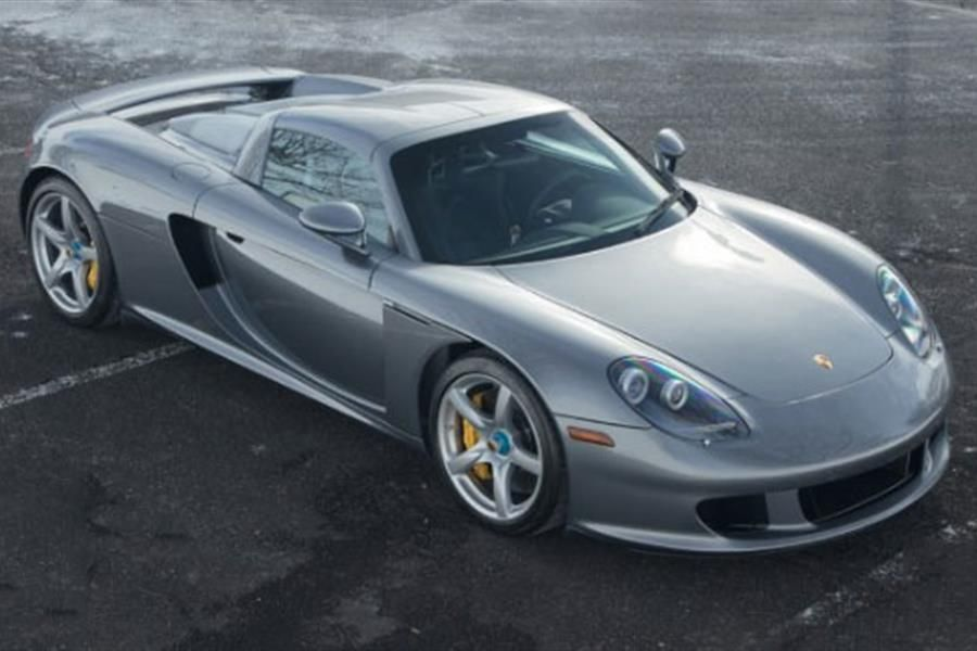 2005 Porsche Carrera GT at Goodings Amelia Island Auction