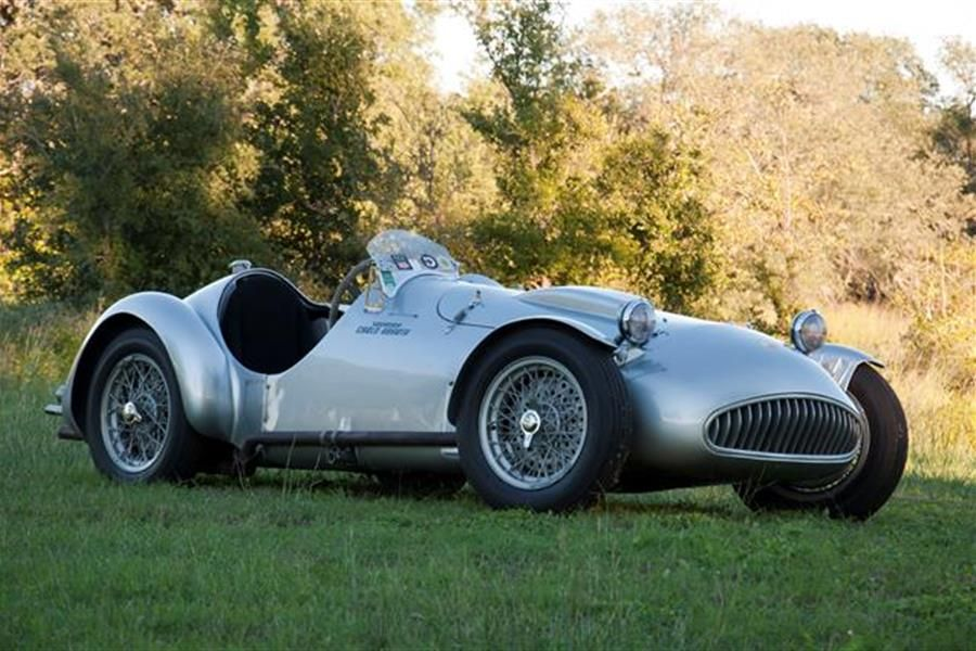 Motostalgia offer 1950 Cisitalia Abarth 204A Spyder Driven by Tazio Nuvolari