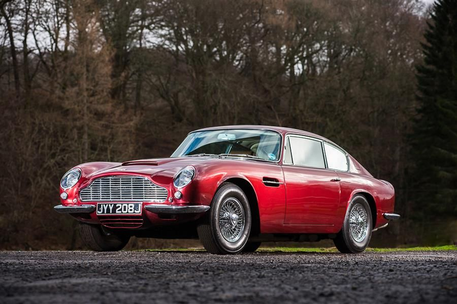 BTCC Champion's 1971 Aston Martin for auction at Silverstone