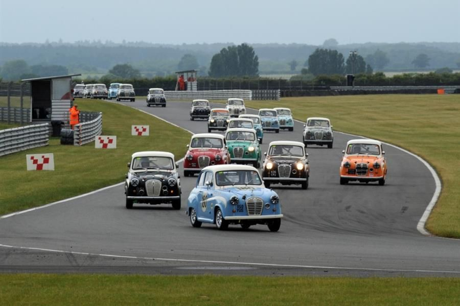 Olympic Gold Medallists Racing at Silverstone Classic
