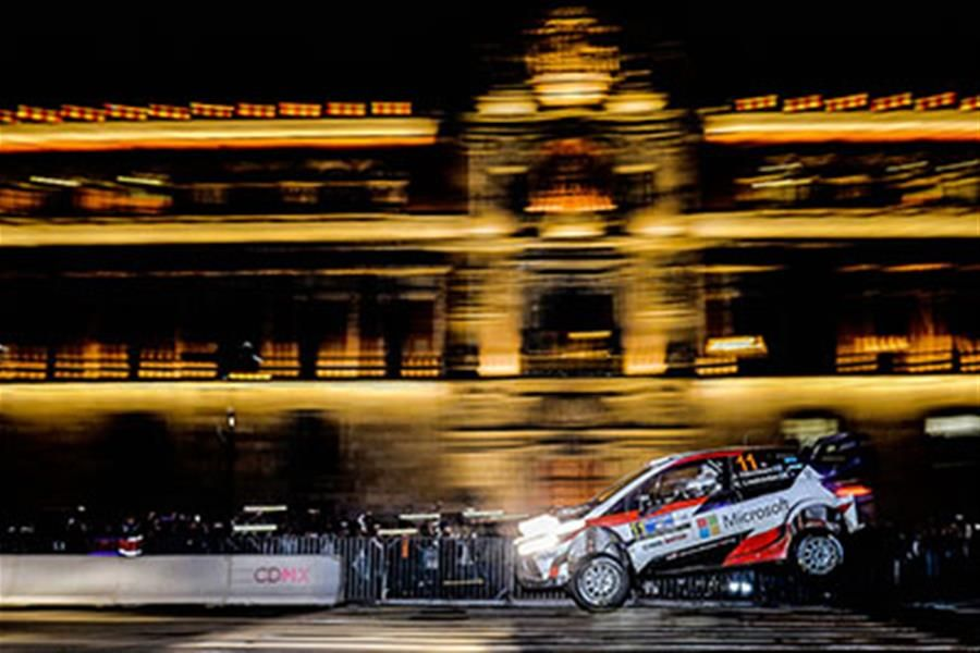 Hanninen leads in the city as Rally Mexico gets underway
