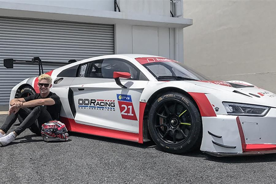 Od Racing Confirms Audi R8 Lms Gt3 And Gilbert For Blancpain Gt Asia