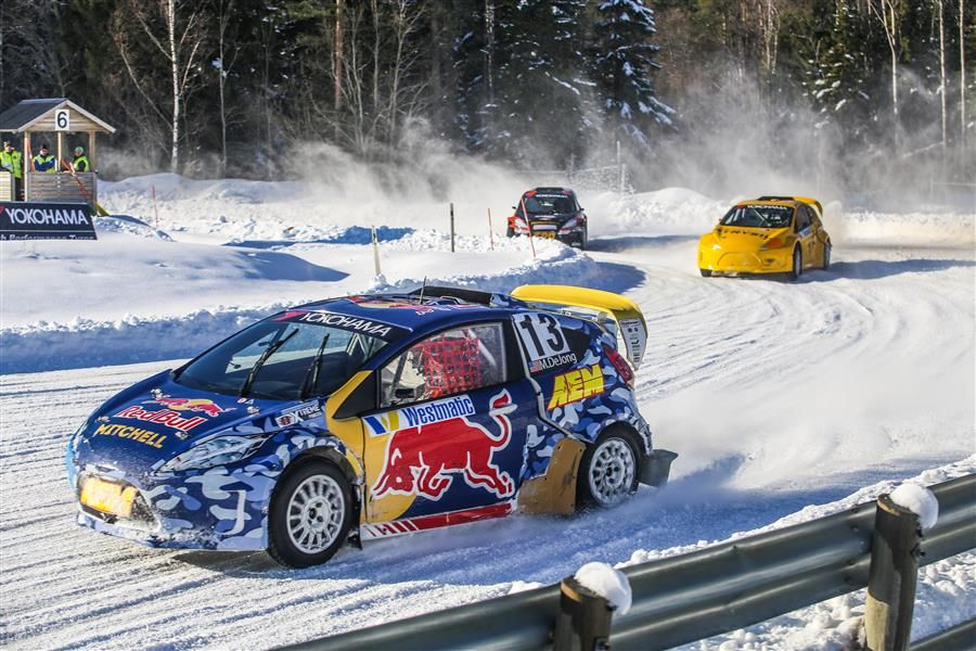 Mitchell deJong dances his way to Rally X on Ice crown