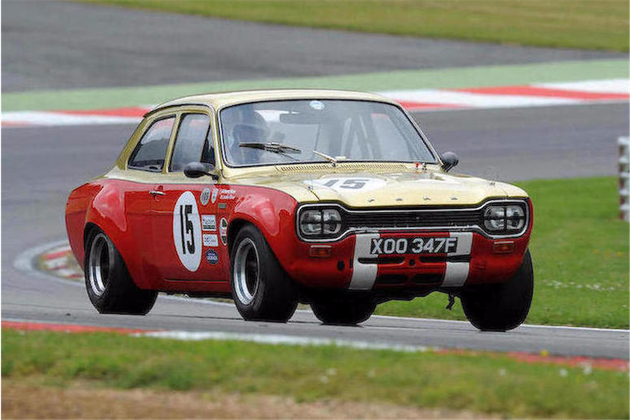Ex-Alan Mann Racing, Jackie Oliver 1968 Ford Escort Twin Cam