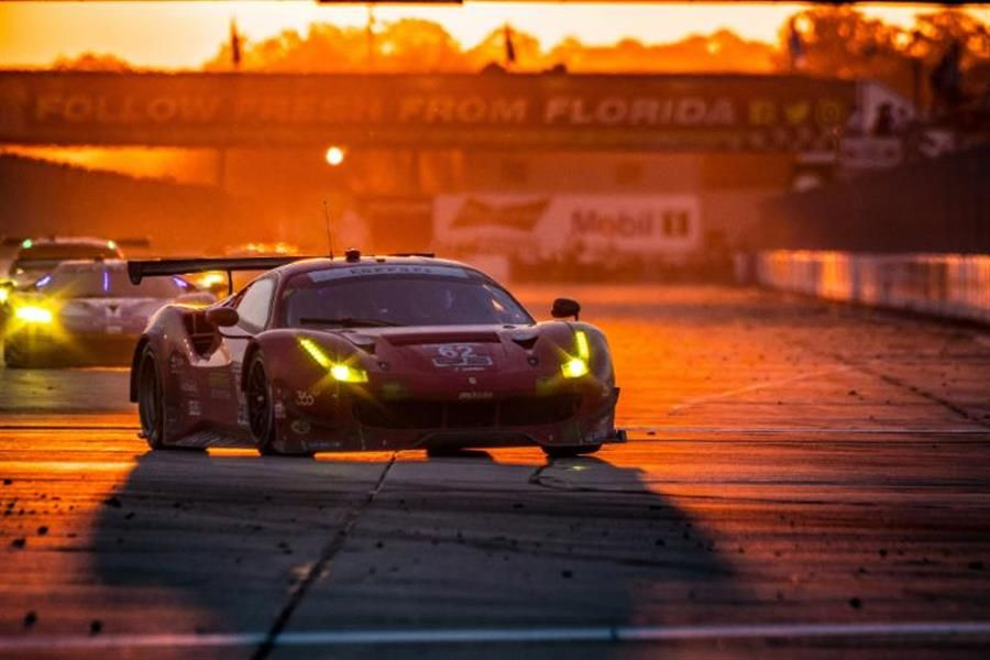 Risi Competizione Collects Another Podium at 12 Hours of Sebring