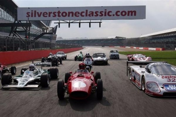 Silverstone Gears up for Another Sizzling Silverstone Classic Historic Race Meeting