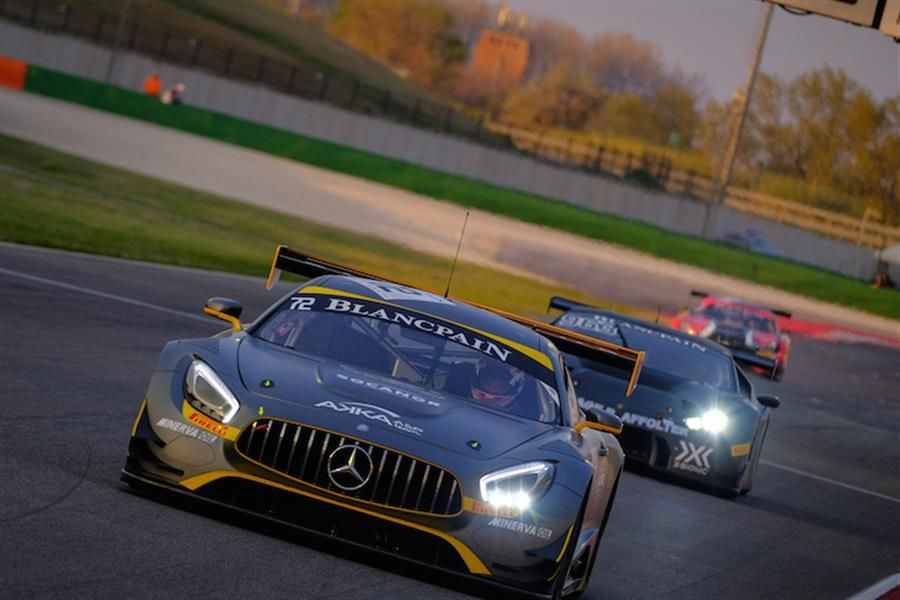 Pons wins Blancpain GT Sports Club Misano Qualifying Race