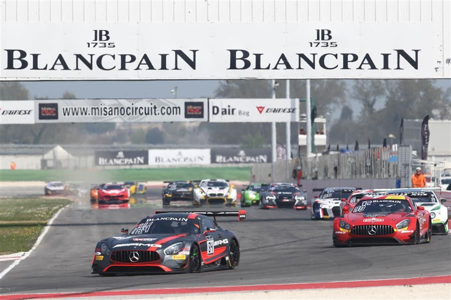 Perfect weekend as Maxi Buhk, Franck Perera win second Blancpain GT race