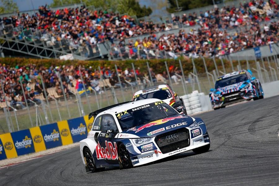 Ekstrom takes World RX round one victory in Barcelona