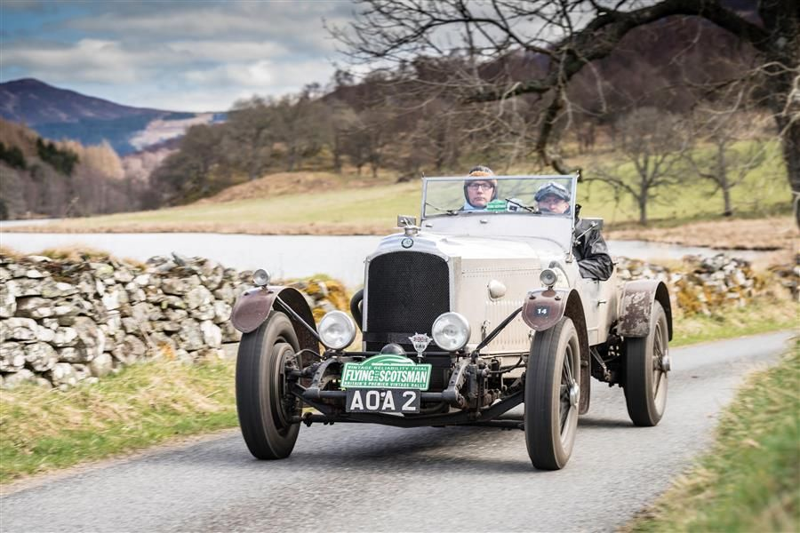 Gregor Fisken Successfully Completes the Flying Scotsman Rally