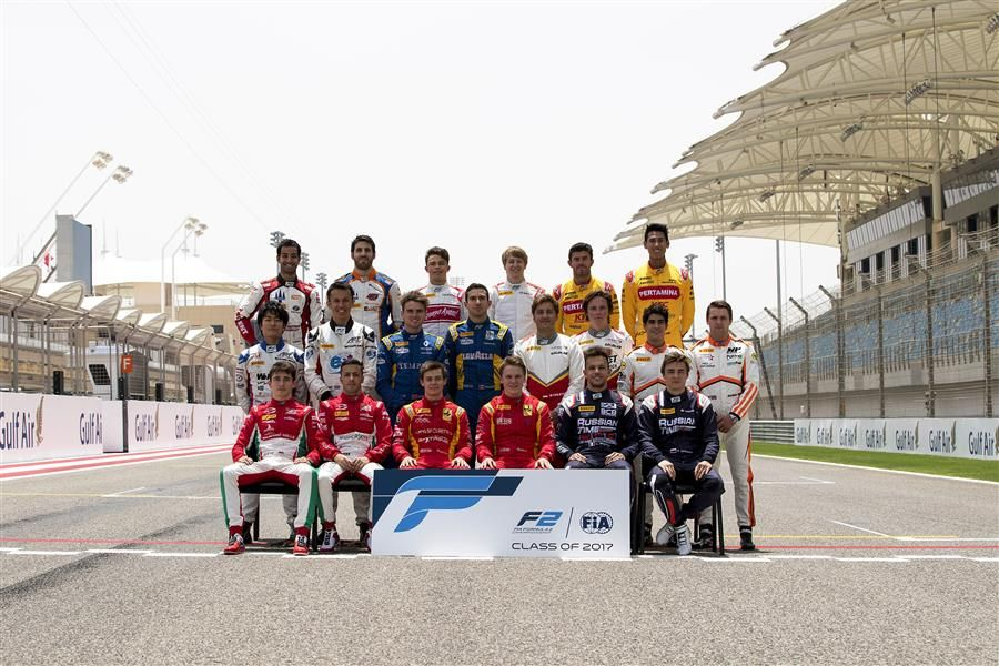 Sakhir sees the opening round of the F2 season