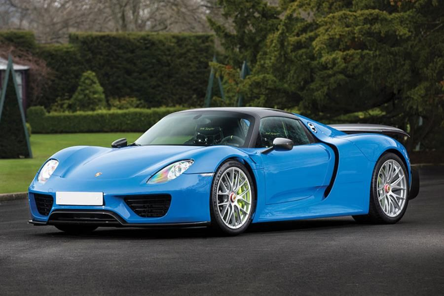 Porsche 918 Spyder, McLaren P1, and Ferrari LaFerrari consigned to Sotheby's Villa Erba auction