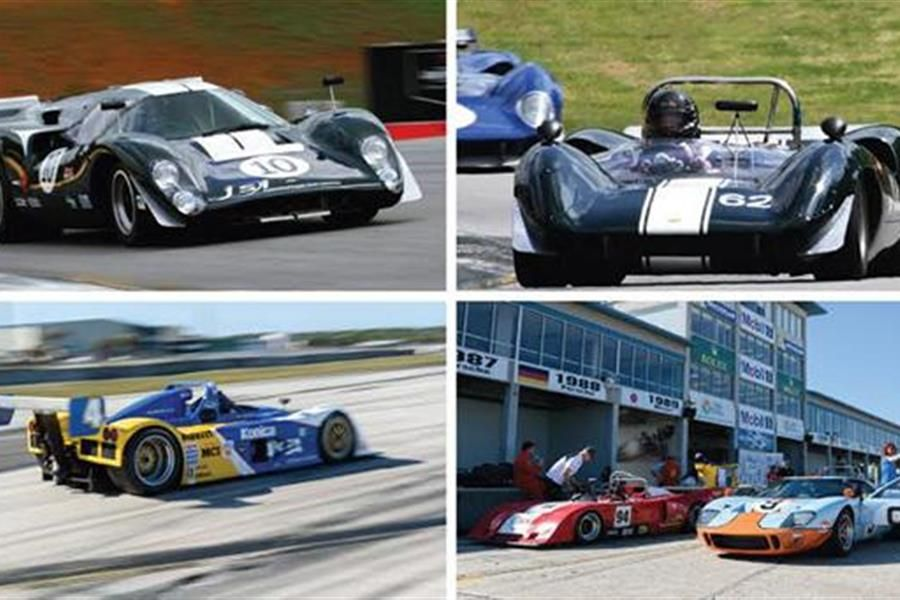 Six Decades of Prototype Sports Cars At 40th Classic Motorsports Mitty