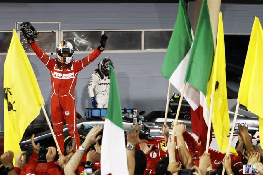 Vettel wins Bahrain GP