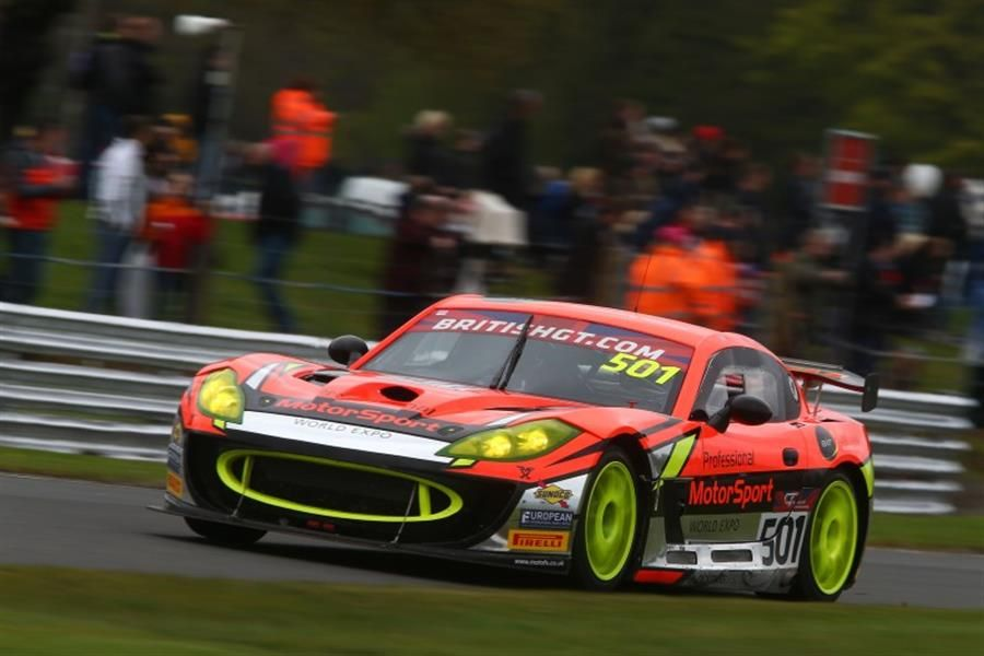 Double podium for Optimum at Oulton Park British GT opener