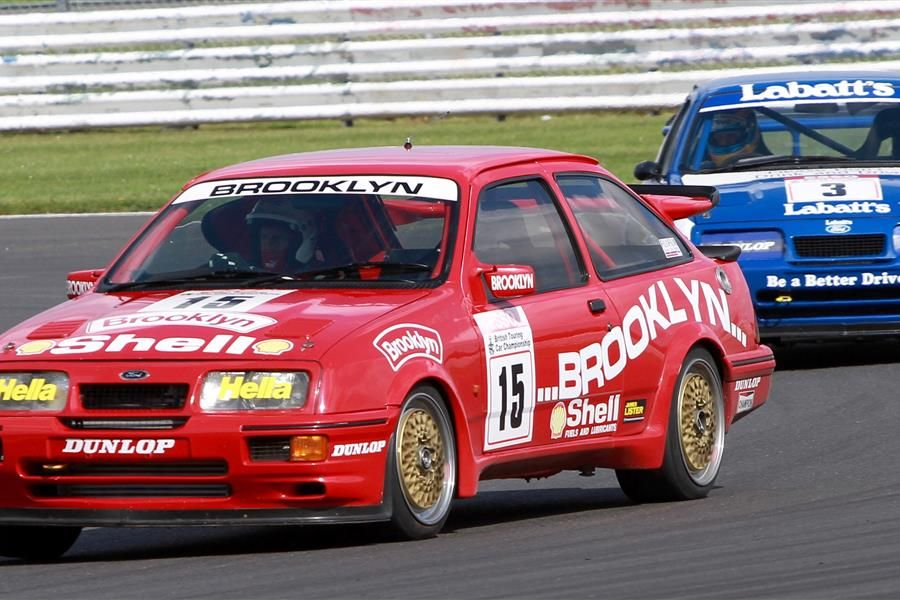 Double  Silverstone Classic races to celebrate 30 years of the legendary Ford Sierra RS500