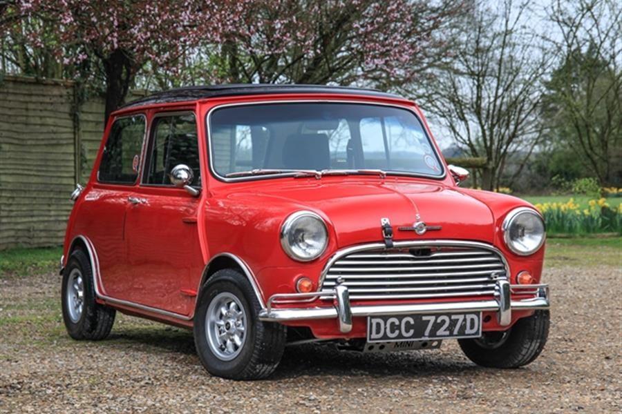 Morris Mini Cooper Mk. I consigned to Historics at Brooklands May ...