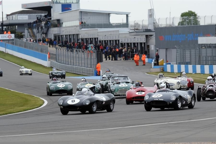 Motor Racing Legends set to excite crowds at Donington Historic Festival