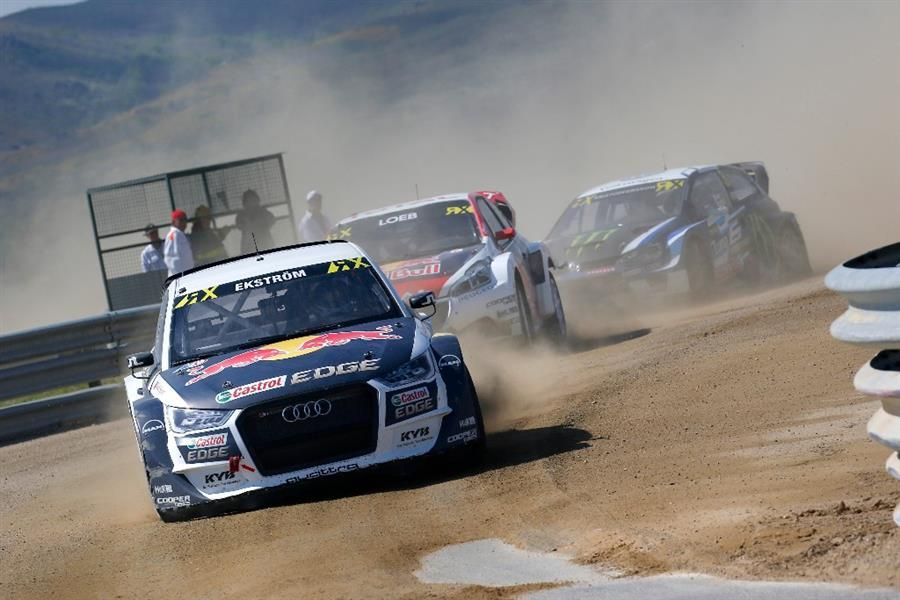 Ekstrom wins in Portugal and extends World RX Championship lead