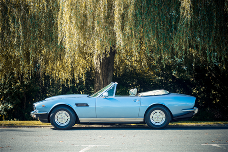 1979 Aston Martin V8 Volante one of 77 quality classics to be offered at The May Sale