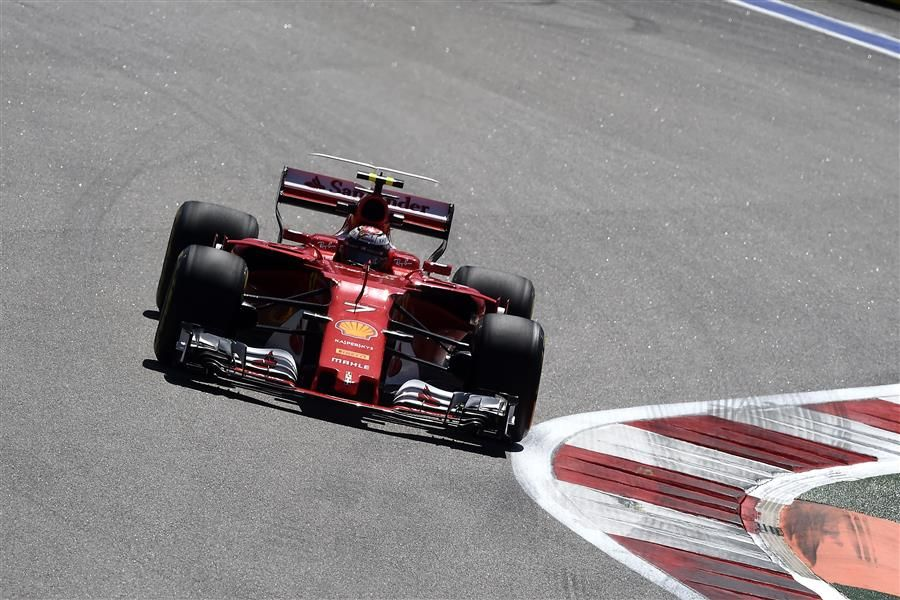 Ferrari front row lock out in Sochi Russian GP Qualifying
