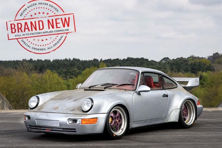 Wish you'd bought a new RSR in 1993, now you can, at Sotheby's Villa Erba sale