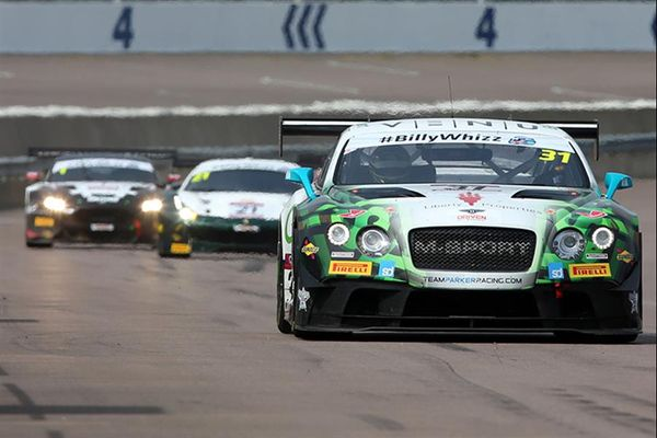 Post-race penalty hands Team Parker's Parfitt Jnr and Morris Rockingham GT win