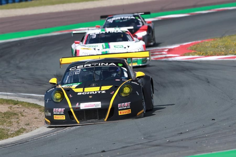 Podium delight for Racecar's MacDowell on ADAC GT Masters debut