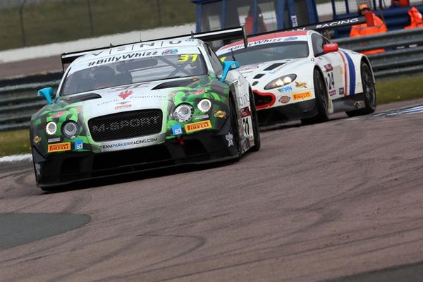 Bentley racers Seb Morris and Parfitt Jnr victorious in Rd3 British GT