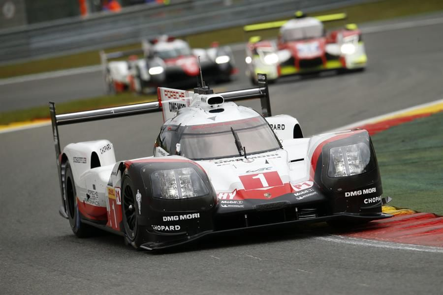 Porsche 919 Hybrid takes pole position for Spa 6hr