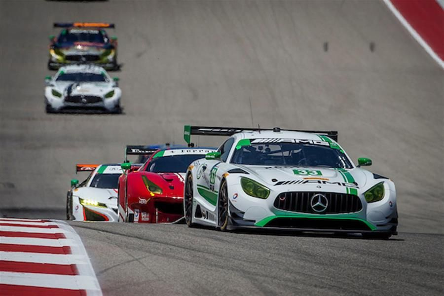 Mercedes-AMG GT3 Driven To Third-Straight WeatherTech SportsCar Championship Victory