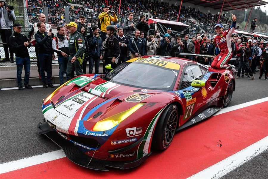 GTE-Pro class double for Ferrari at Spa WEC