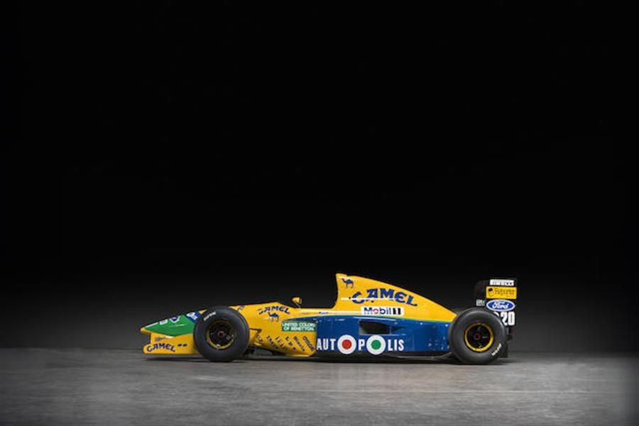 Schumacher and Piquet's GP winner offered at Bonhams Spa sale