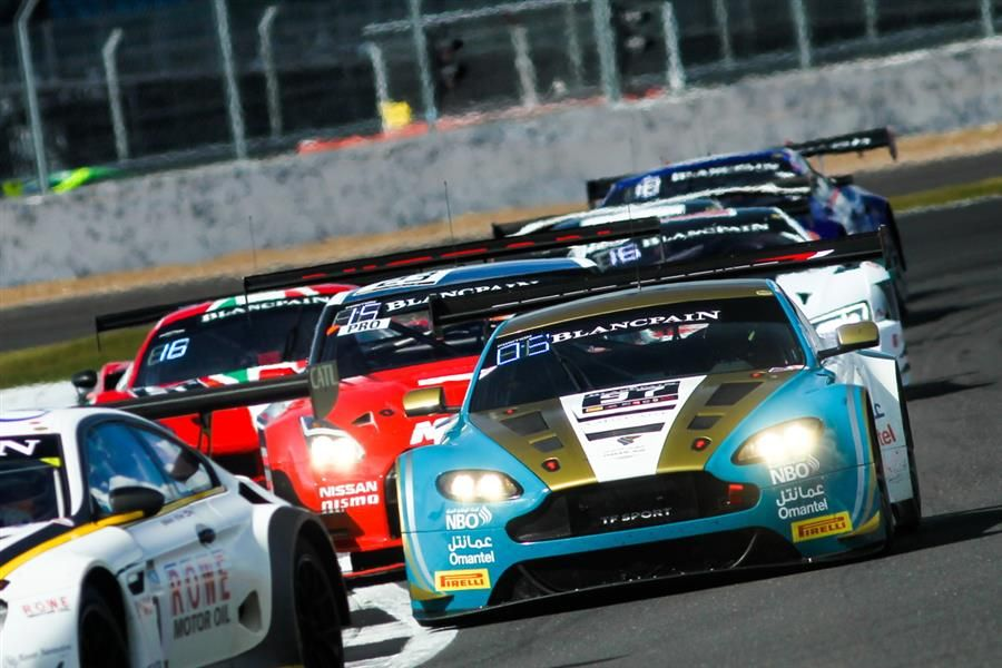 Al Harthy delighted with back-to-back Blancpain podiums