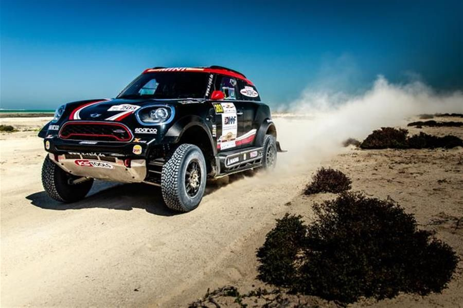 3 international crews from MINI to compete at 2017 Rally Kazakhstan