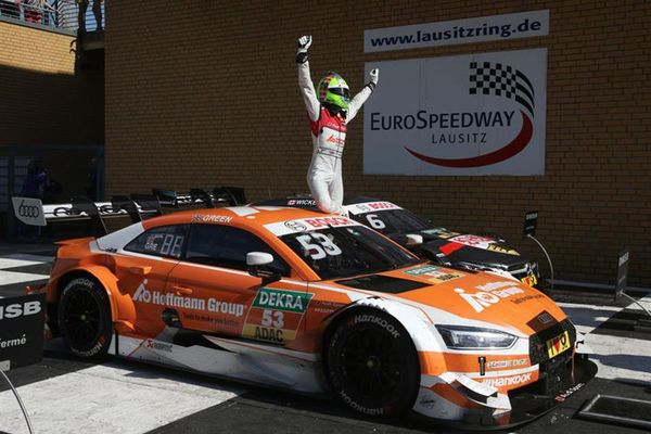 Audi scores one-two victory at DTM Lausitzring