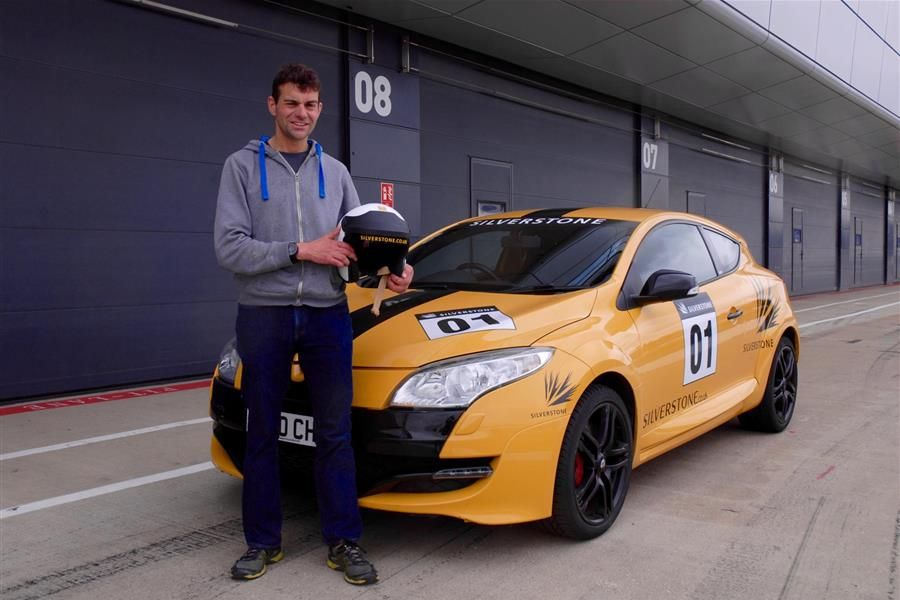 Vassos Fast tracked from Chris Evans Breakfast Show to racing at Silverstone Classic