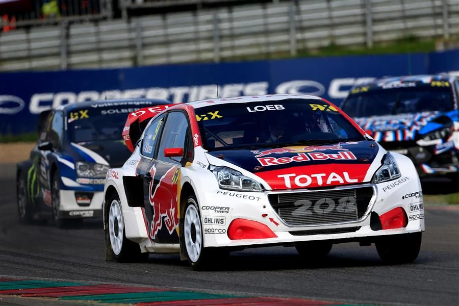 Team Peugeot Hansen heads to Lydden Hill to celebrate Rallycross Jubilee