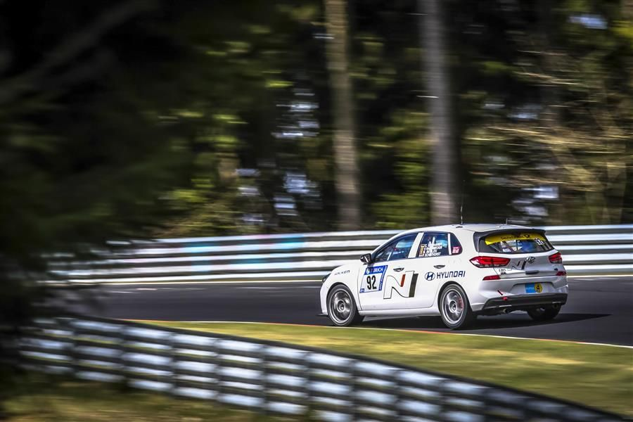 Final test for Hyundai i30 N during Nurburgring 24hrs