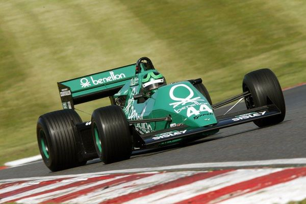 Martin Stretton wins second FIA Masters Historic F1 race of the weekend at Brands