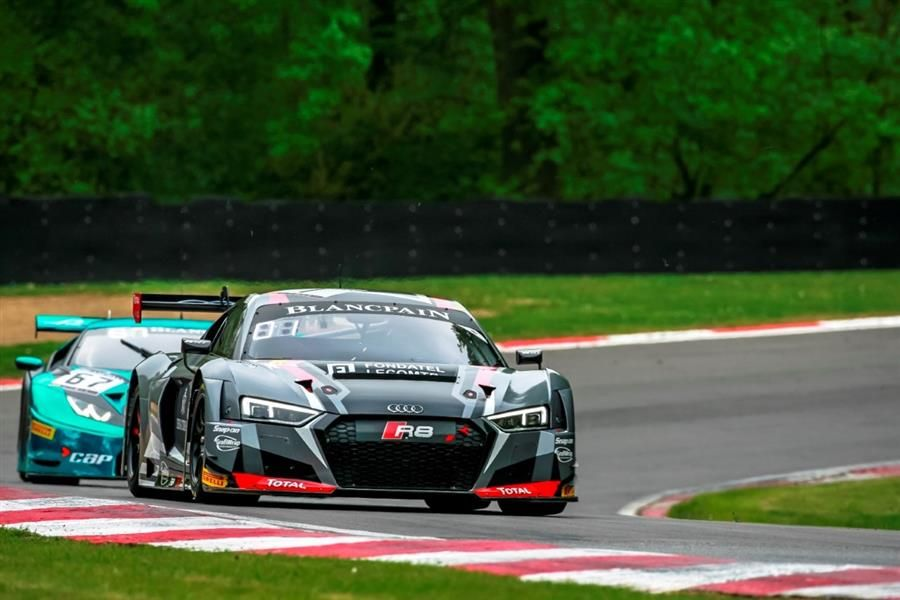 Zolder Blancpain Sprint Cup home race for the Belgian Audi Club Team WRT