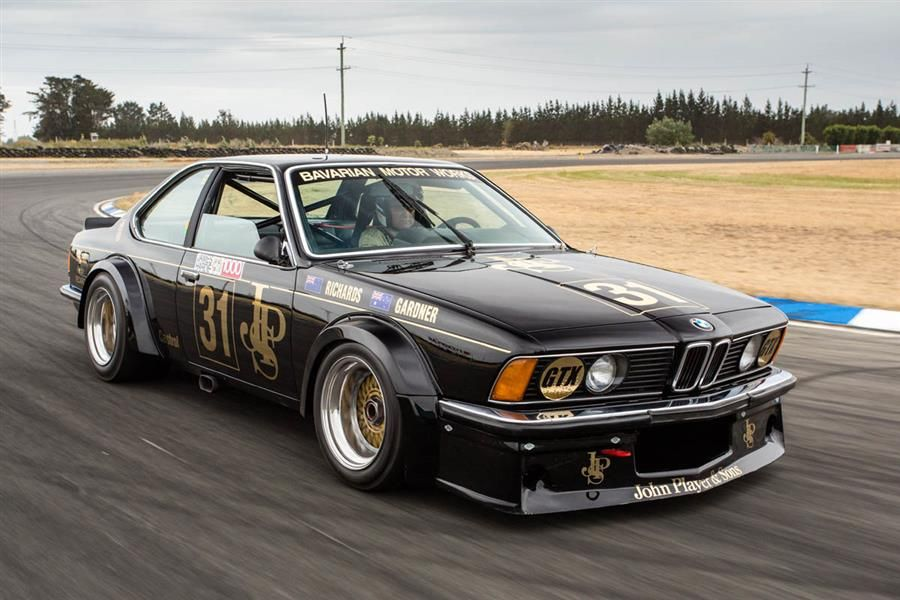 Iconic JPS-liveried BMW to wow crowds at Silverstone Classic
