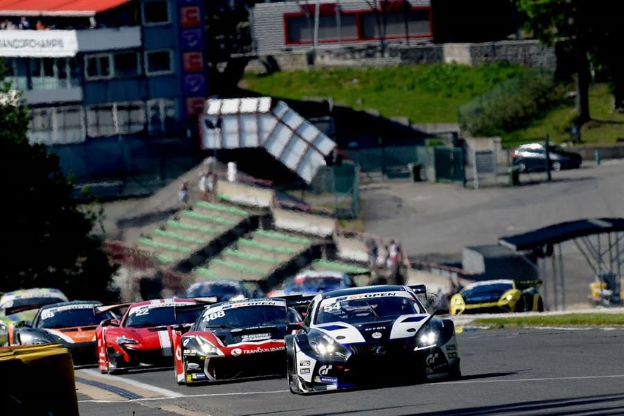 Lamborghini, Ferrari, McLaren, BMW lead the chase to Lexus in GT Open
