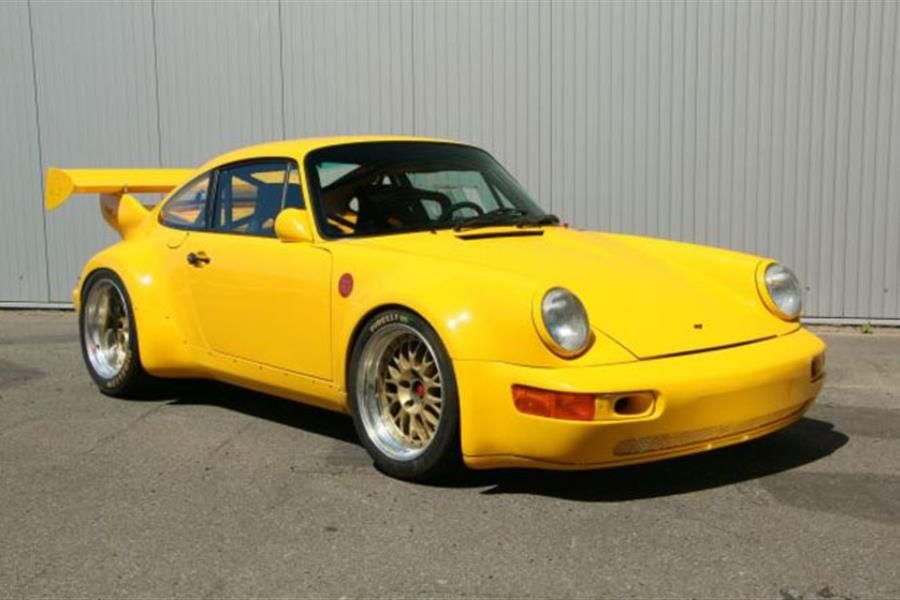 1989 Ruf CTR coupe 'Yellow Bird' on offer at Artcurial Monaco Auction